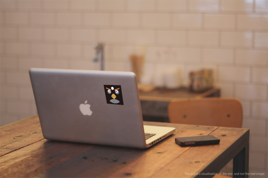Black Bird - Preview On Macbook