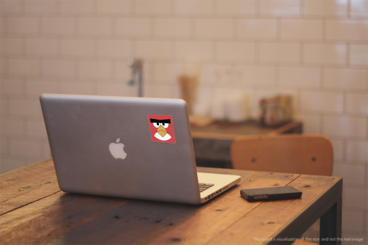 Red Bird - Preview On Macbook