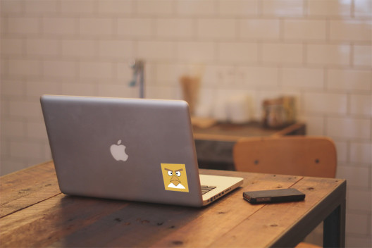 Yellow Bird - Preview On Macbook