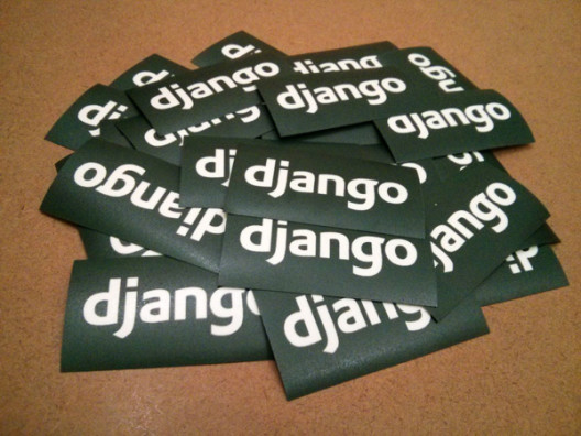 Django Stickers Perspective View