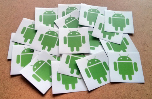 Android Stickers Preview