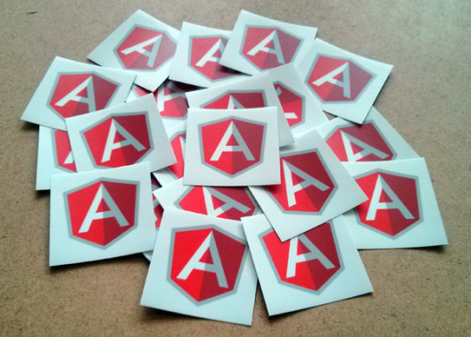 AngularJS Stickers Preview