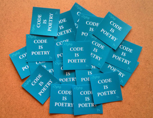 Code Is Poetry Stickers Preview