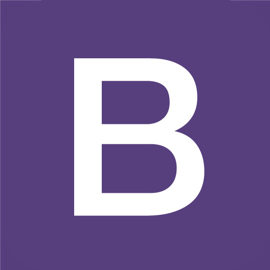 Bootstrap Logo Sticker
