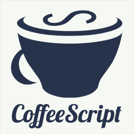 Coffee Script Vinyl Sticker
