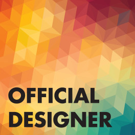 Official Designer Sticker Badge