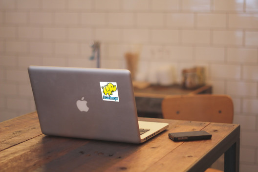 Hadoop Vinyl Sticker Macbook Preview