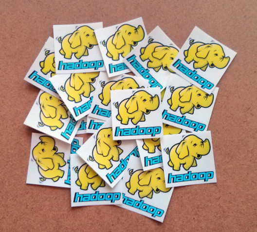 Hadoop Vinyl Stickers