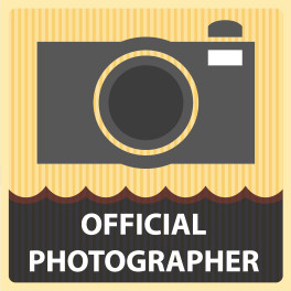Official Photographer Vinyl Sticker