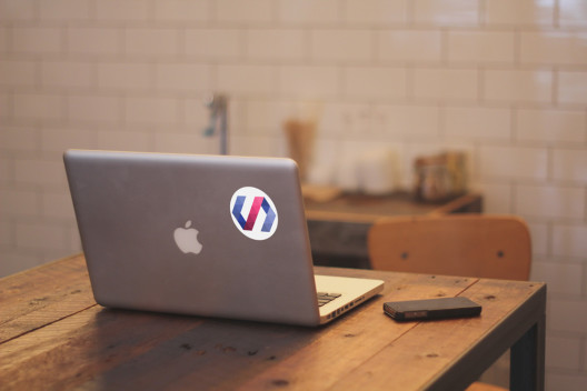Polymer Sticker Macbook Preview