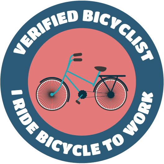 Verified Bicyclist Stickers