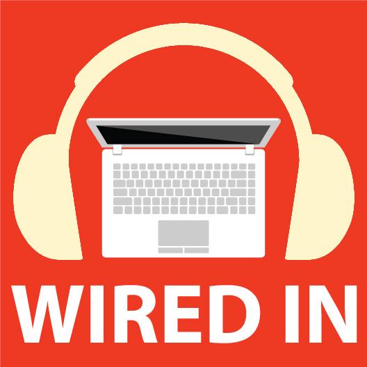 Wired In Vinyl Sticker - Just Stickers : Just Stickers