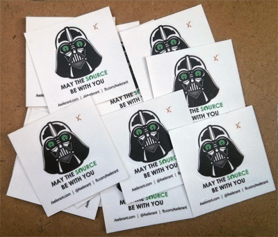 Darth Vader Open Source Stickers