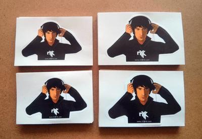 DJ Nyk Stickers