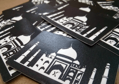 Drupal Taj Mahal Stickers Close Up