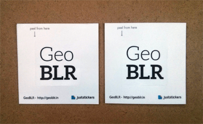 GeoBLR Stickers