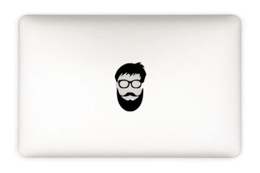 Beard And Glass Decal Preview