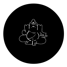 Ganesha Decal