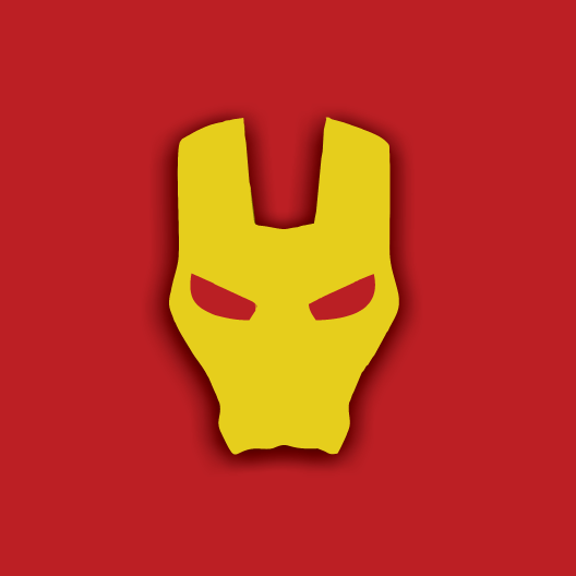 Iron Man Mask Sticker
