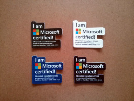 Shreyanshi Consultancy Microsoft Training Stickers