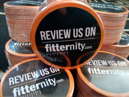 Fitternity Stickers Close Up