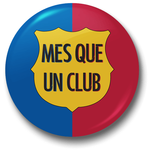 Fc Barcelona Stickers.Fc Barcelona More Than A Club Badge Just Stickers