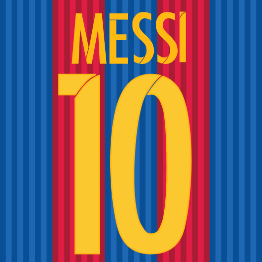 Messi 10 Just Stickers Just Stickers