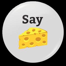 say-cheese-badge