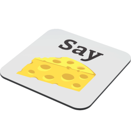 say-cheese-coaster-side