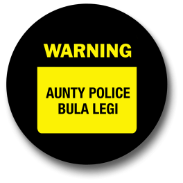 warning-aunty-police-bulalegi-badge