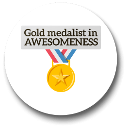 gold-medalist-in-awesomeness-badge