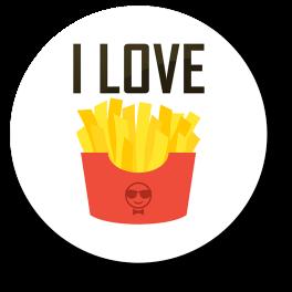 i-love-fries-badge