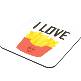 i-love-fries-coaster