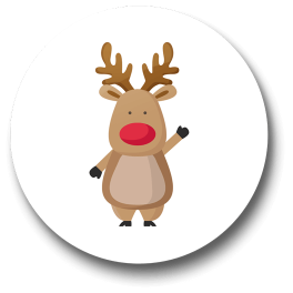 rudolf-the-rednose-reindeer-badge