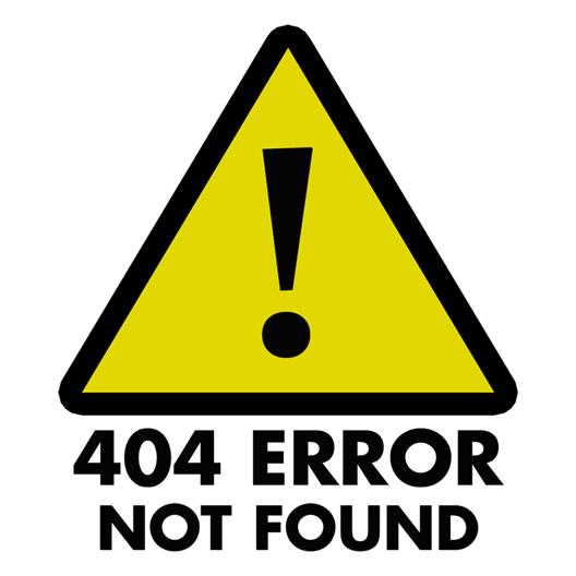 404 Error Not Found Sticker - Just Stickers : Just Stickers