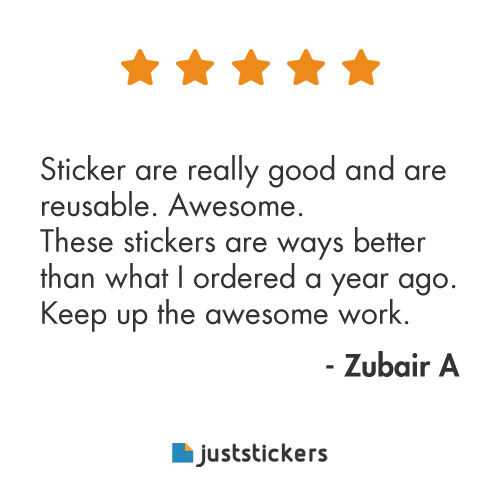 Juststickers Review