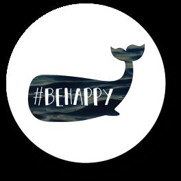 be-happy-badge