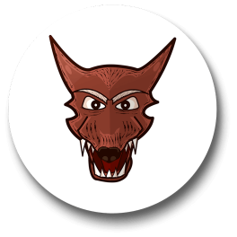 were-wolf-badge