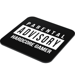 hardcore-gamer-parental-advisory-coaster