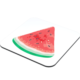 watermelon-coaster