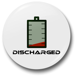 discharged-badge