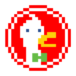 duck-duck-go-pixel-art