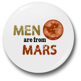 men-are-from-mars-b-badge