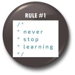 never-stop-learning-badge
