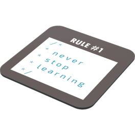 never-stop-learning-coaster