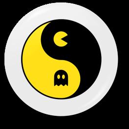 pacman-yin-yang-b-badge