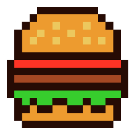 pixel-burger