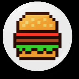 pixel-burger-badge