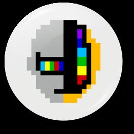 random-8-bit-memory-badge