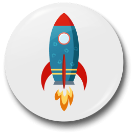 rocket-badge